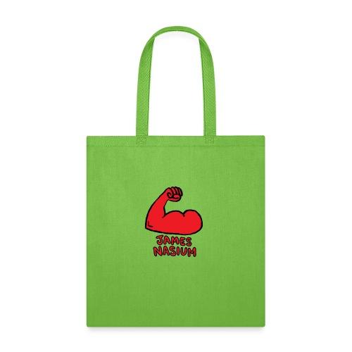 JAMES NASIUM LOGO - Tote Bag