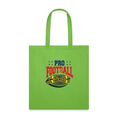 PRO FOOTBALL FORENSICS - Tote Bag