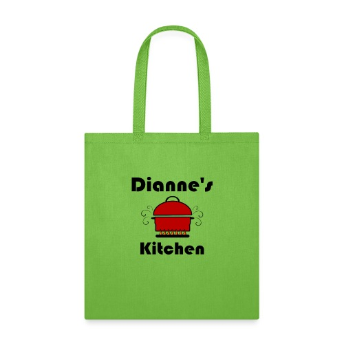 Dianne's Kitchen with Red Pot - Tote Bag