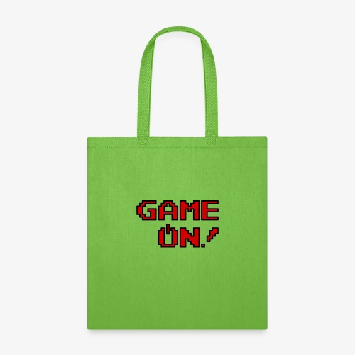Game On.png - Tote Bag