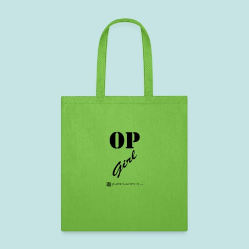 OP Girl (black) - Tote Bag