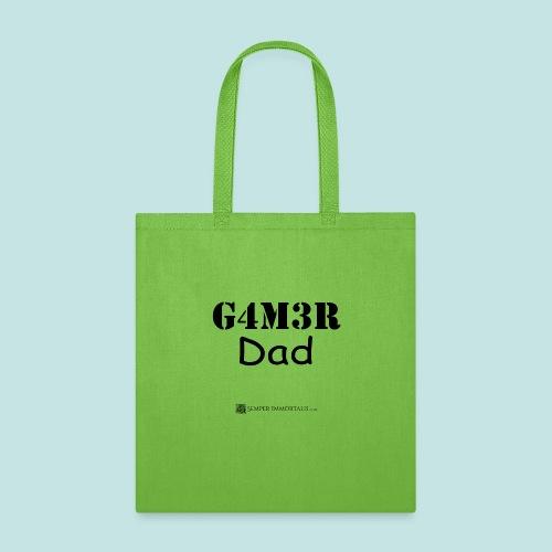 Gamer Dad (black) - Tote Bag