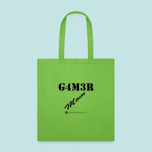 Gamer Mom (black) - Tote Bag