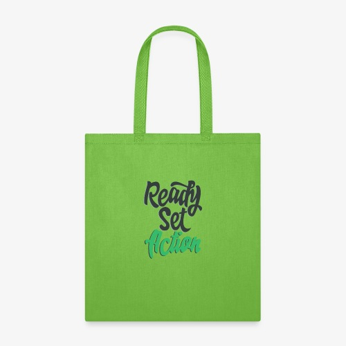 Ready.Set.Action! - Tote Bag