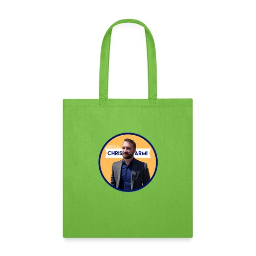 Chris Armi Circular Image - Tote Bag