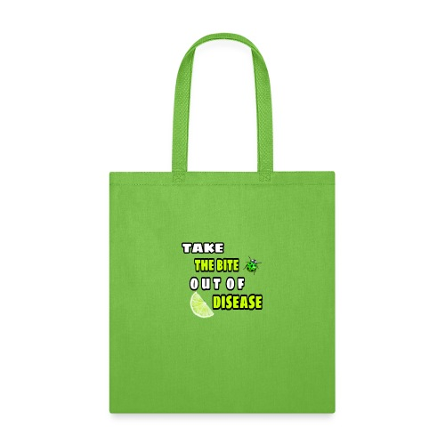 Take the bite out of Lyme's Disease - Tote Bag