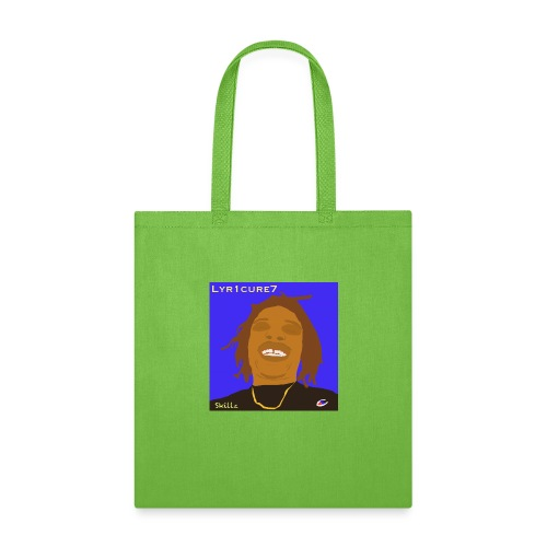 Lyr1cure7 Cartoon face Design - Tote Bag