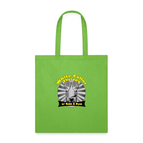 The White Collar Therapy Show - Legacy Logo - Tote Bag