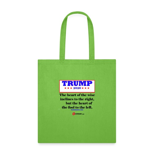 Trump 2020 Eccl 10 2 Black - Tote Bag