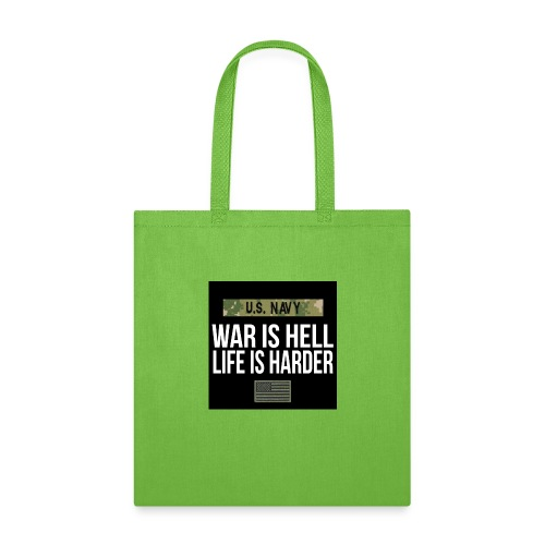 War Is Hell Navy - Tote Bag