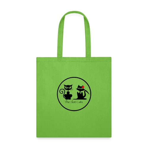 slot cats cat logo transparent bg - Tote Bag