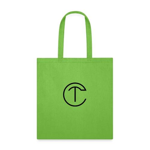 design with black logo - Tote Bag
