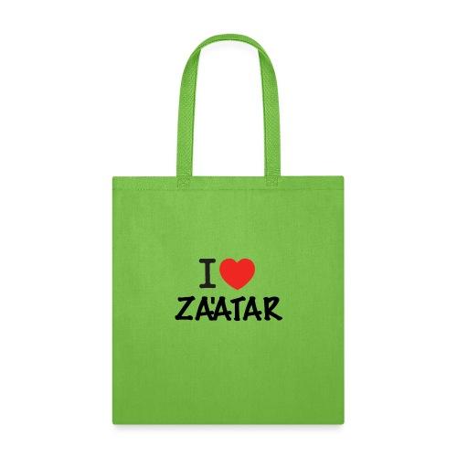 i love zaatar 1 - Tote Bag