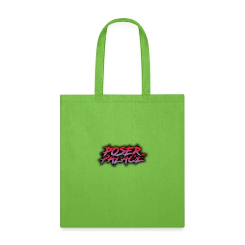 Poser Palace Text - Tote Bag