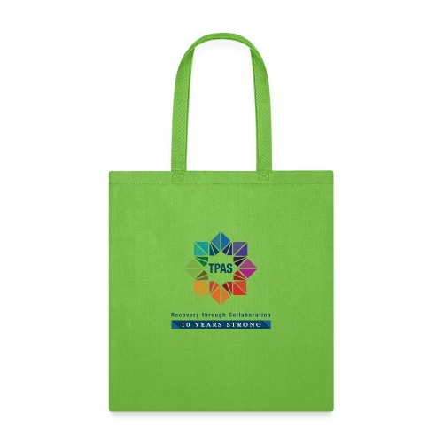 TPAS Color Stacked 10TH 5 13 TPAS OPTION A - Tote Bag