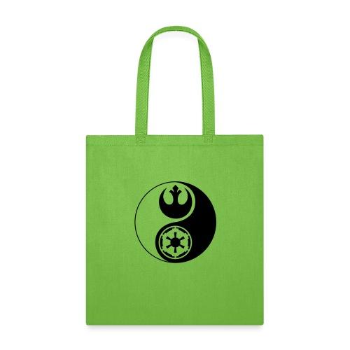 Star Wars Yin Yang 1-Color Dark - Tote Bag
