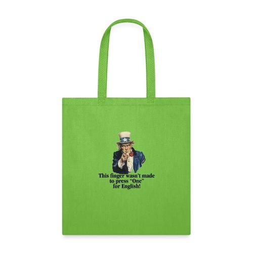 Uncle Sam - Finger - Tote Bag