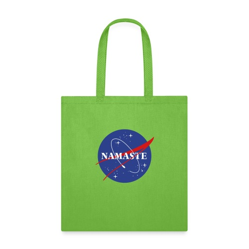 Namaste We Come In Peace - Tote Bag