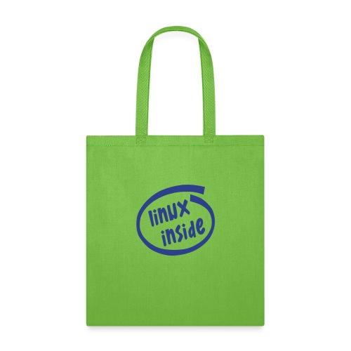 linux inside - Tote Bag
