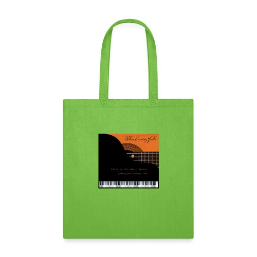 When Evening Falls CD Cover - Tote Bag