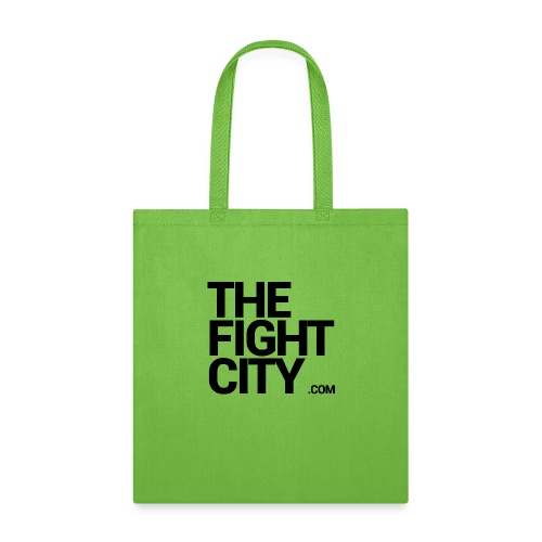fightcitylogo2 LG - Tote Bag