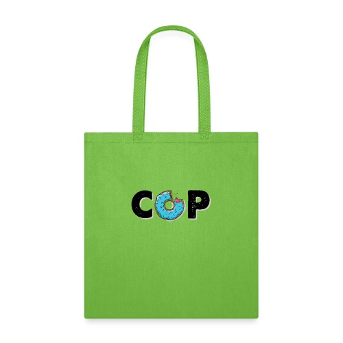 Cute, Funny, COP Typography T-shirt Food Contest - Tote Bag