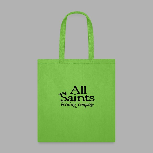 All Saints Logo Black - Tote Bag