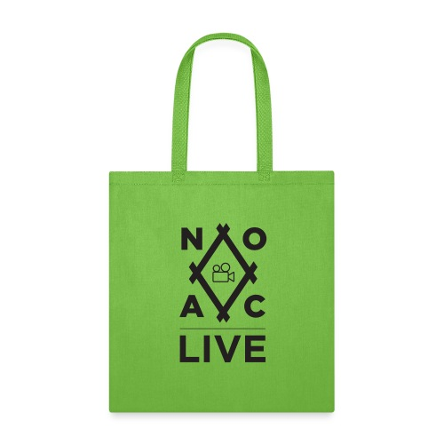 NOAC Live Black Logo - Tote Bag