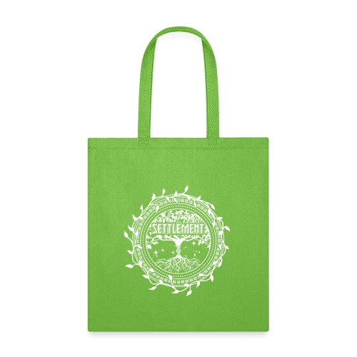 Band Seal (White) | The Settlement - Tote Bag