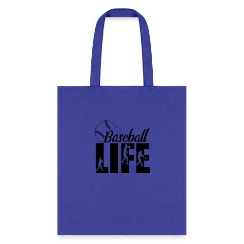 Baseball life - Tote Bag