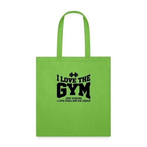 I love the gym - Tote Bag