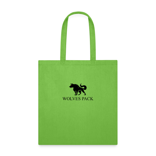 LOGO WOLF 1 black - Tote Bag