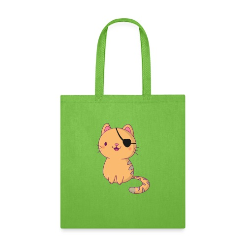 Cat with 3D glasses doing Vision Therapy! - Tote Bag
