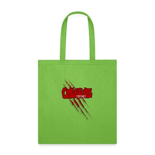 Creature Features Slash T - Tote Bag
