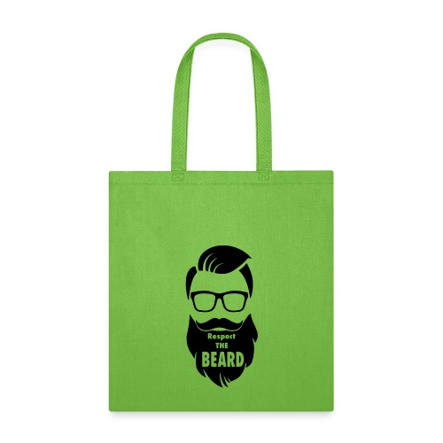Respect the beard 08 - Tote Bag