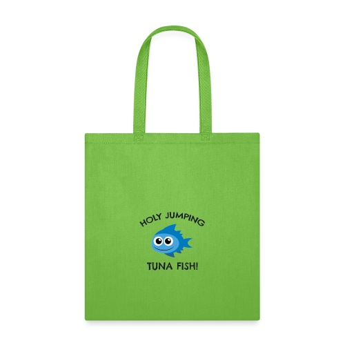 jumping tuna fish - Tote Bag