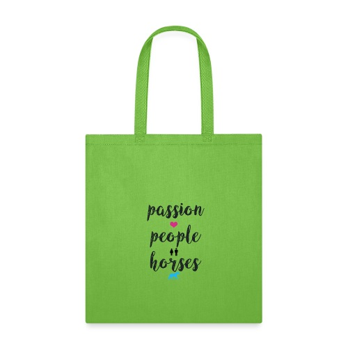 passion people horses - Tote Bag