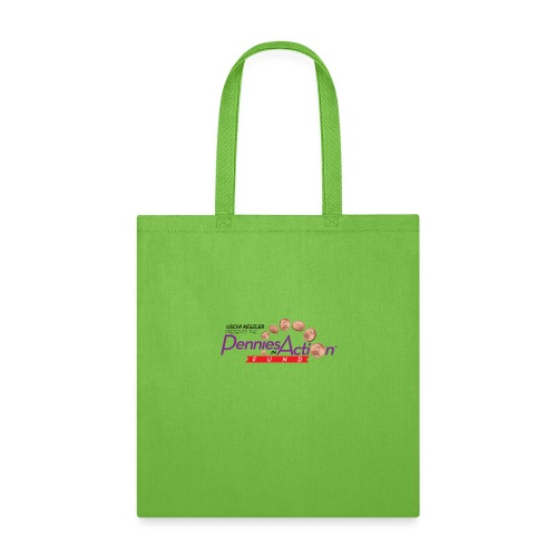Pennies In Action Logo - Tote Bag
