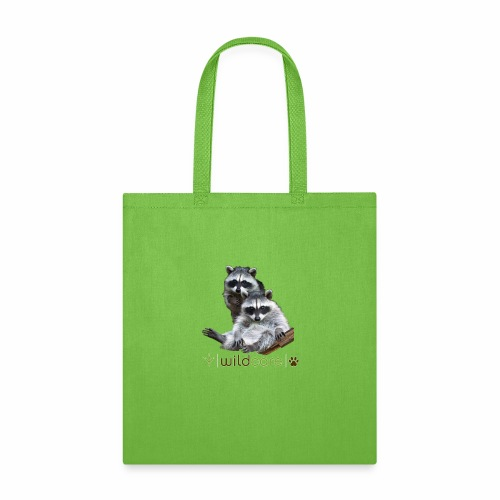 Raccoons in care at WildCare - Tote Bag