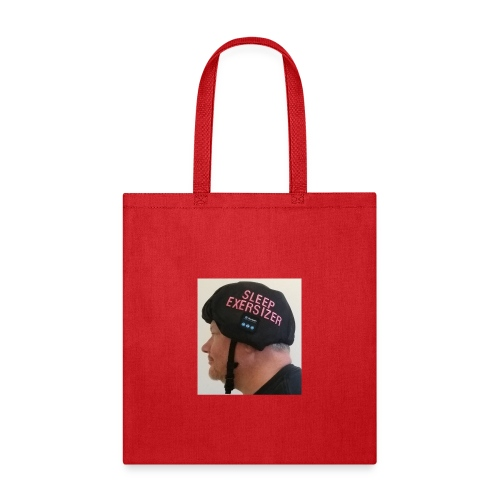 Sleep Exersizer Helmet Model - Tote Bag