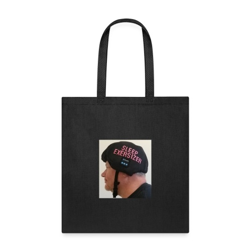 Sleep Exersizer Helmet Model - Tote Bag