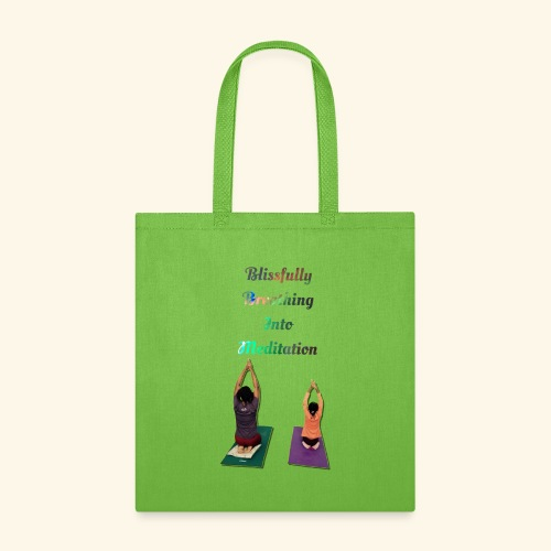 Blissing Breathing into Meditation - Tote Bag