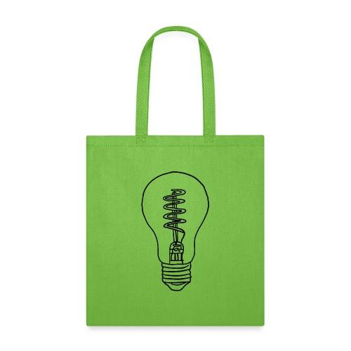 Vintage Light Bulb - Tote Bag