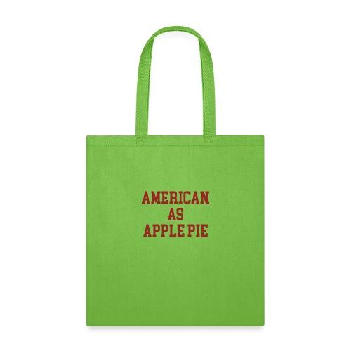 American as Apple Pie - Tote Bag