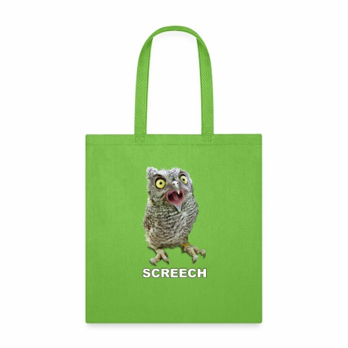Screech Owl Patient at WildCare - Tote Bag