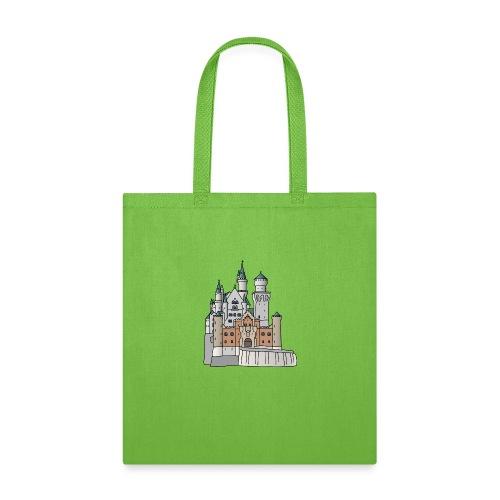 Neuschwanstein Castle, Bavaria - Tote Bag
