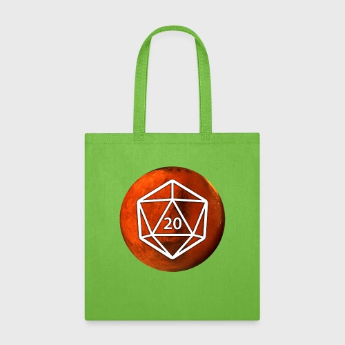 Mars d20 Astronomy Space - Tote Bag