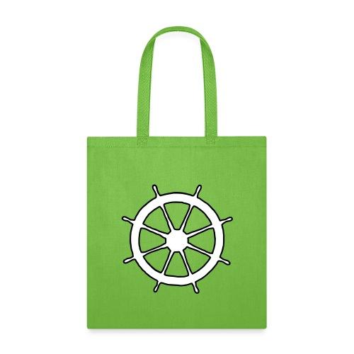 Steering Wheel Sailor Sailing Boating Yachting - Tote Bag