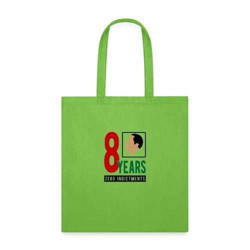 Obama Zero Indictments - Tote Bag