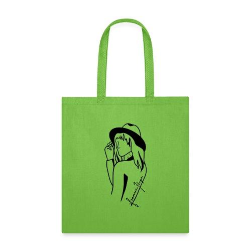 Minimal Black Line - Tote Bag